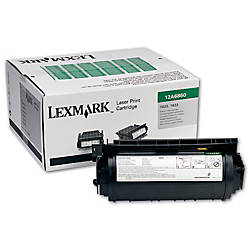 Lexmark T63X 12A7460 Return Program Black