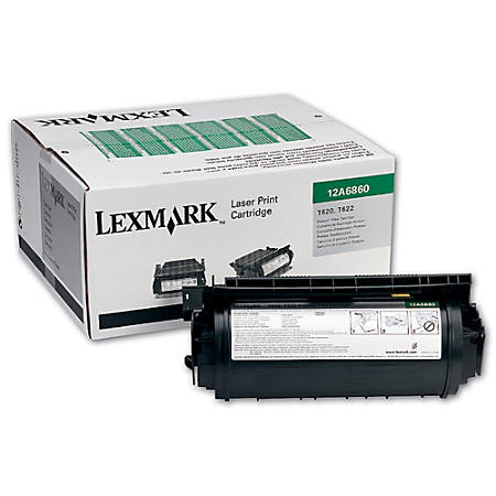 Lexmark™ T63X (12A7460) Return Program Black Toner Cartridge
