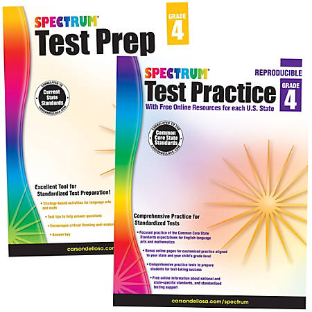 Spectrum® Test Prep And Practice Classroom Kit, Grade 4