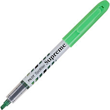 Pilot Spotliter Supreme Highlighters Chisel Point