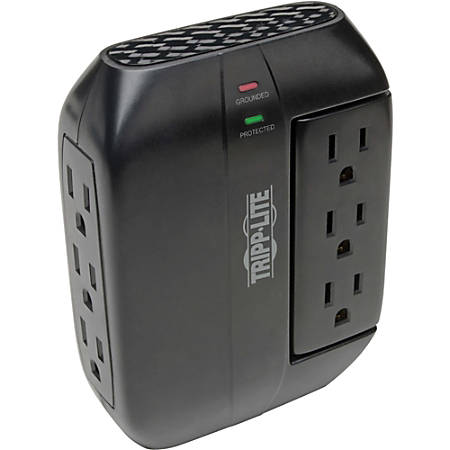 Tripp Lite Protect It! Swivel6 Six-Outlet, Direct Plug-in Surge Suppressor
