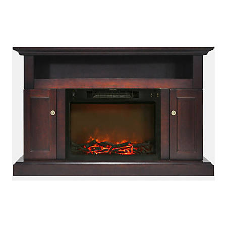 Cambridge Sorrento Fireplace Mantel with Electronic Fireplace Insert
