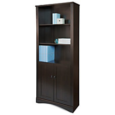 Realspace Dawson 5 Shelf Bookcase With