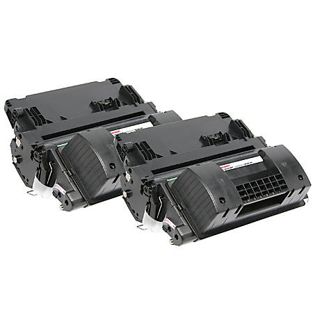 Office Depot® Brand OD90ADP Remanufactured Toner Cartridge Replacement For HP 90A Black, Pack Of 2