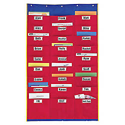 Learning Resources Organization Station Pocket Chart