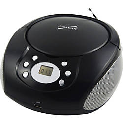 Supersonic Portable MP3CD Player with Aux