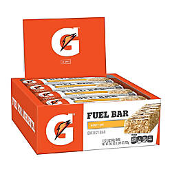 Gatorade Prime Fuel Bars Honey Oat