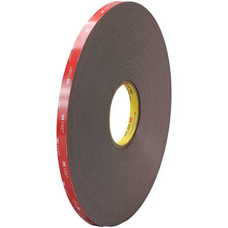 """3M™ VHB™ 4979F Tape, 1.5"""" Core, 0.5"""" x 5 Yd., Black"""