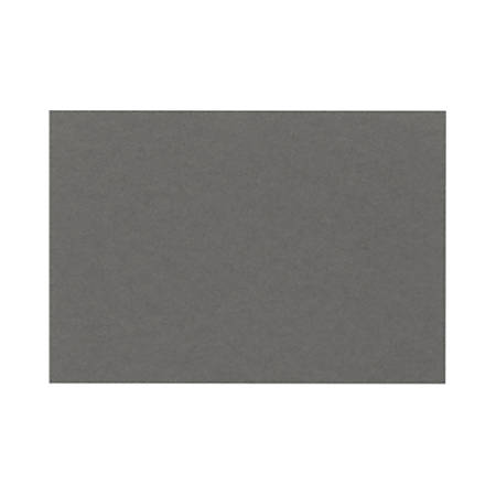"""LUX Flat Cards, A2, 4 1/4"""" x 5 1/2"""", Smoke Gray, Pack Of 50"""