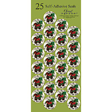 Great Papers Holiday Seals 1 BrownGreenRed