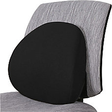 Lorell Ergo Lumbar Back Support Fabric