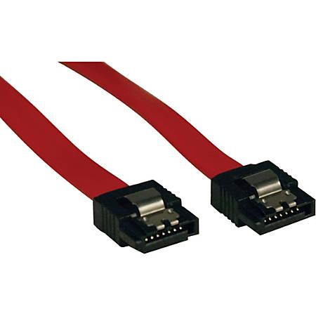 Tripp Lite 8in Serial ATA SATA Latching Signal Cable 7Pin / 7Pin M/M