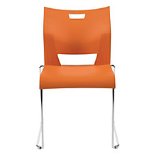 Global Duet Stacking Chairs Armless 32