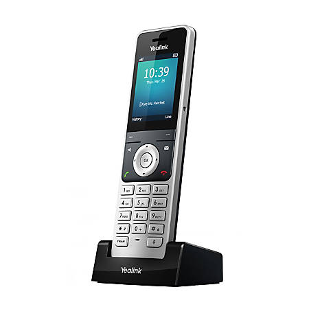Yealink W56H DECT 6.0 Cordless Expansion Handset For Yealink W56P Phone Systems, YEA-W56H