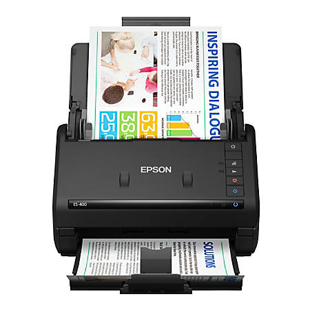 Epson® WorkForce Color Duplex Document Scanner, ES-400