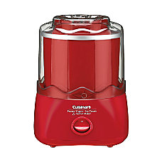 Cuisinart Frozen YogurtIce CreamSorbet Maker Red