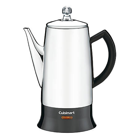 Cuisinart® 12-Cup Percolator, Silver