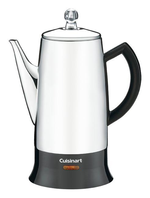 Cuisinart 12 Cup Percolator Silver by fice Depot & ficeMax