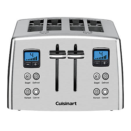 Cuisinart® 4-Slice Wide-Slot Toaster, Silver