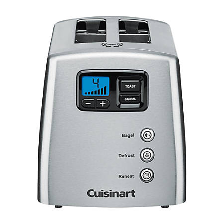 Cuisinart® 2-Slice Extra-Wide-Slot Toaster, Silver