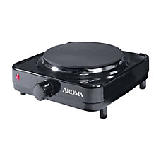 Aroma Single Hot Plate Black