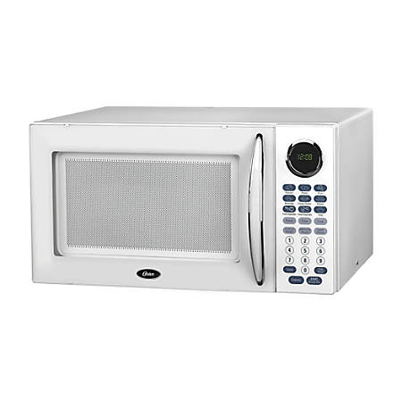 Oster 1.1 Cu Ft Microwave, White