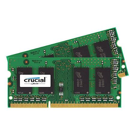 Crucial 16GB (2 x 8 GB) DDR3 SDRAM Memory Module