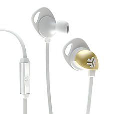 JLab Epic In Ear Headphones White