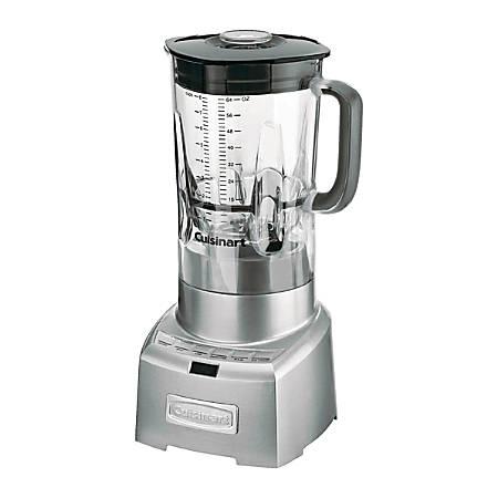 Cuisinart PowerEdge CBT-1000 Table Top Blender - 1000 W - 2 quart - 5 Speed Setting(s) - Aluminum, Brushed Stainless