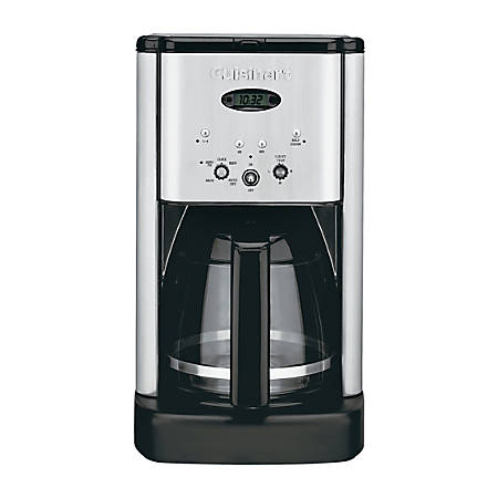 Cuisinart® Brew Central 12-Cup Programmable Coffeemaker, Silver