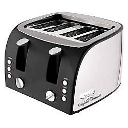 CoffeePro Adjustable Slot 4 Slice Toaster