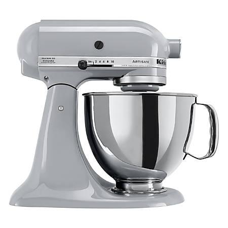 KitchenAid® Artisan® Series 5 qt Tilt-Head Stand Mixer, Chrome