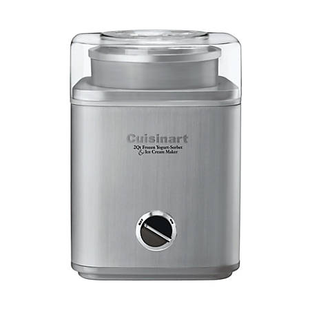 Cuisinart™ Pure Indulgence 2-Quart Ice Cream Maker, Silver