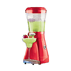 Nostalgia Electrics Margarita Slush Maker Red