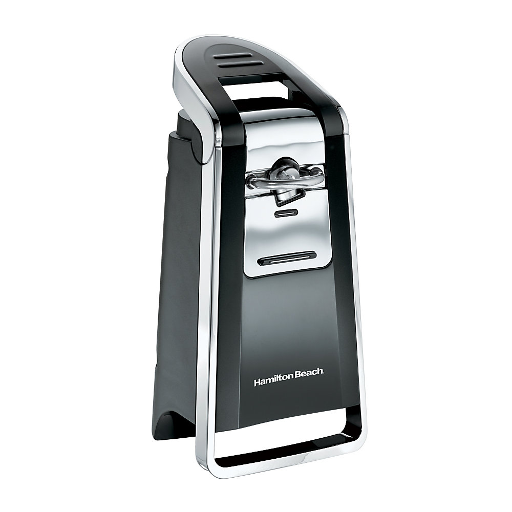 Hamilton Beach Smooth Touch Can Opener, Black