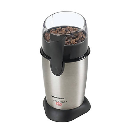 Black & Decker® Smartgrind™ Coffee Grinder, Silver