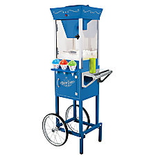 Nostalgia Electrics Snow Cone Cart Blue