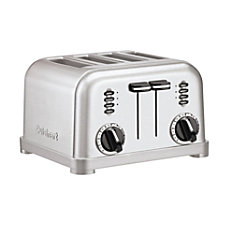 Cuisinart 4 Slice Toaster Silver