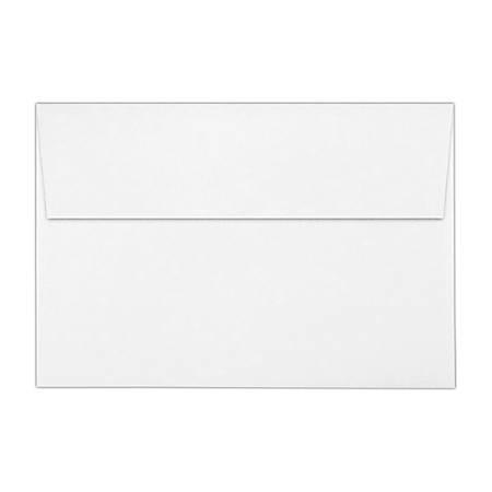 """LUX Invitation Envelopes With Peel & Press Closure, A8, 5 1/2"""" x 8 1/8"""", Bright White, Pack Of 1,000"""