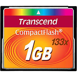 Transcend 1GB CompactFlash CF Card