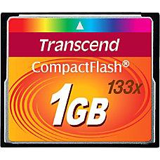 Transcend 1GB CompactFlash CF Card