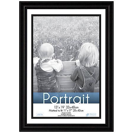 """Timeless Frames® Lauren Frame, Portrait, 13"""" x 19"""", Black"""