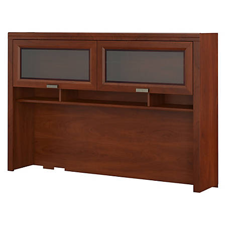 Bush Furniture Tuxedo Hutch, Hansen Cherry, Standard Delivery