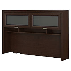 Bush Furniture Tuxedo Hutch Mocha Cherry