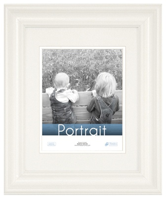 Timeless Frames Lauren Frame Portrait 16 X 20 White By Office Depot