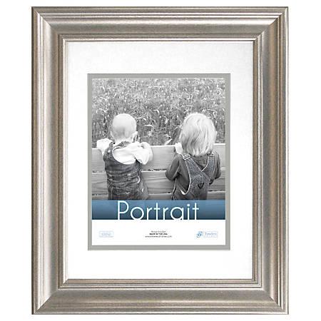 """Timeless Frames® Lauren Frame, Portrait, 16"""" x 20"""", Silver"""