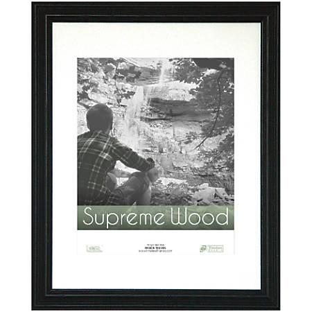 """Timeless Frames® Supreme Woods Frame, 11"""" x 14"""", Black"""