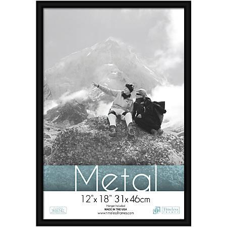 "Timeless Frames® Metal Frame, 12"" x 18"", Black"