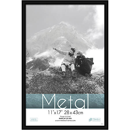 Timeless Frames Metal Frame 11 x 17 Black by Office Depot & OfficeMax