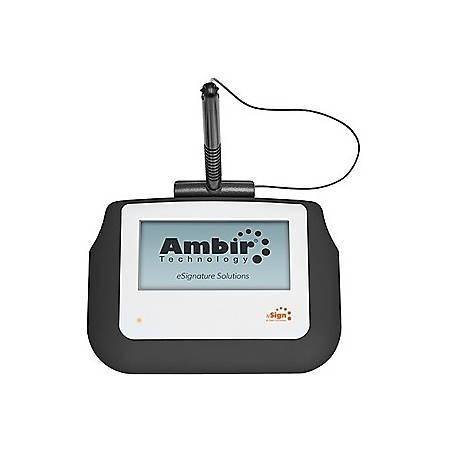 """Ambir nSign SP110-S2 Signature Pad - USB - 4"""" x 2"""" Active Area - 320 x 160 - USB"""